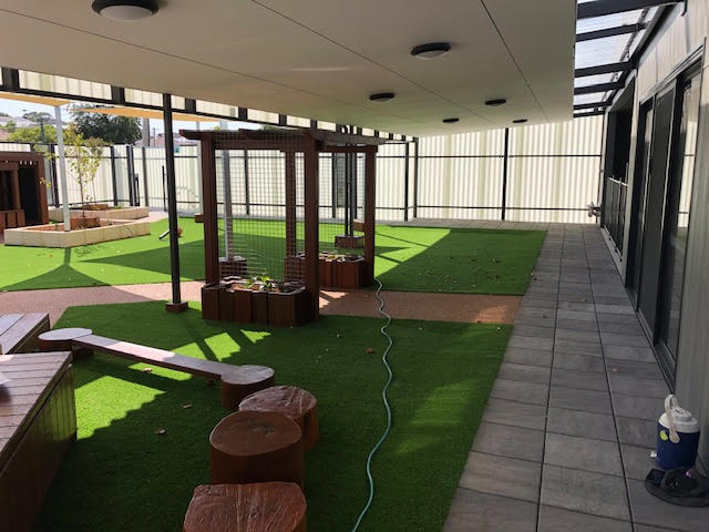 Buzon Pedestals at early learning centre