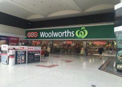 Woolworths and Coles Supermarkets