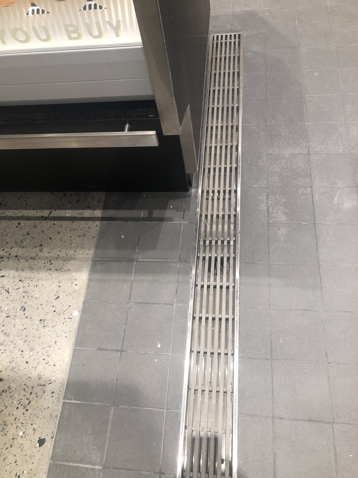 inglewood woolworths square bar close up commercial kitchen