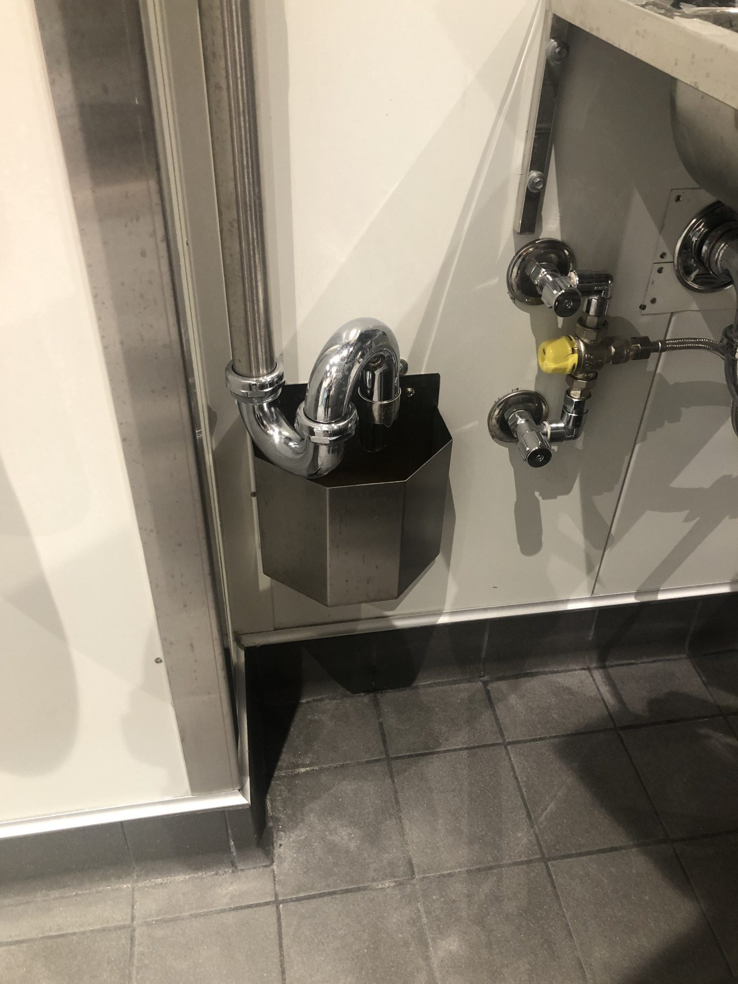 inglewood woolworths stainless steel tundish commercial kitchen